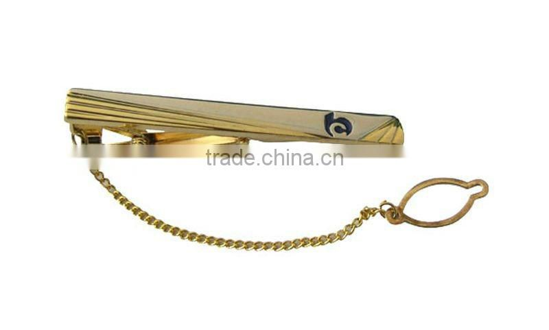 2012 novelty fashion plated sliver tie pin