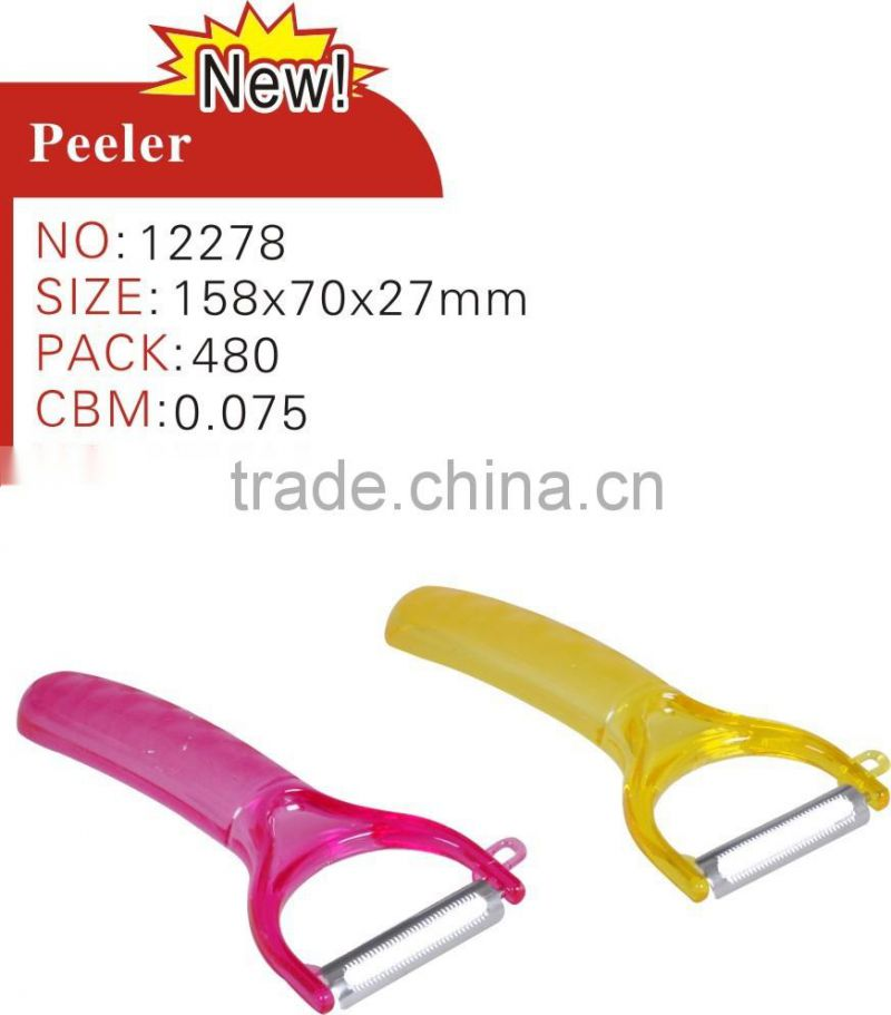 Multi-functional Vegetable Peeler/ Plastic Peeler
