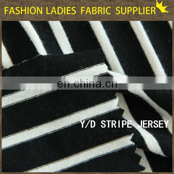 new!!polyester mesh jersey fabric Y/D stripe jersey jersey composition fabric