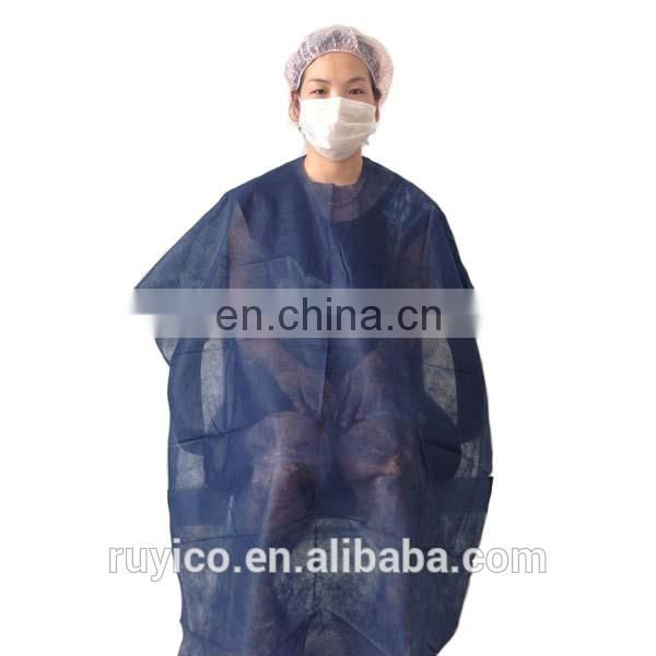 Disposable Plastic Hair Cut Cape