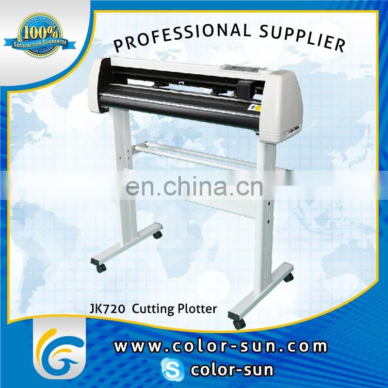heat transfer Vinyl Cutting Plotter with optical eye (720mm, CE approved)
