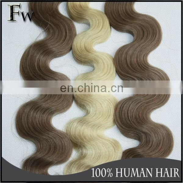 Wholesale i tip hair extensions body wave remy human raw unprocessed blonde hair