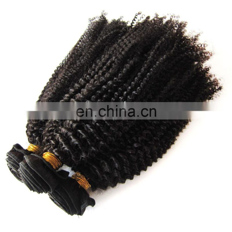 Wholesale kinky curly hair hair extension remy