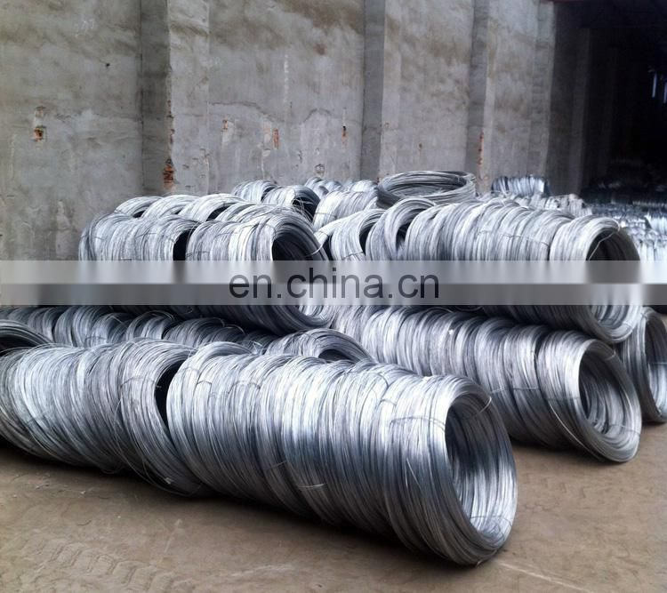 china factory 14 gauge / 16 gauge hot dipped galvanized gi wire