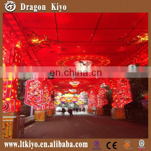color paper lighting led inside chinese lantern