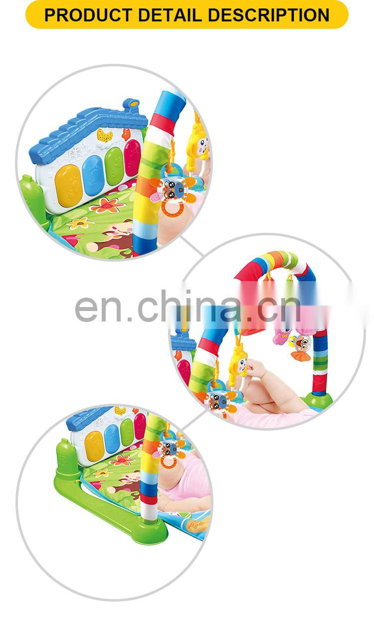 intelligent piano toy floor lying mats baby play gym mat