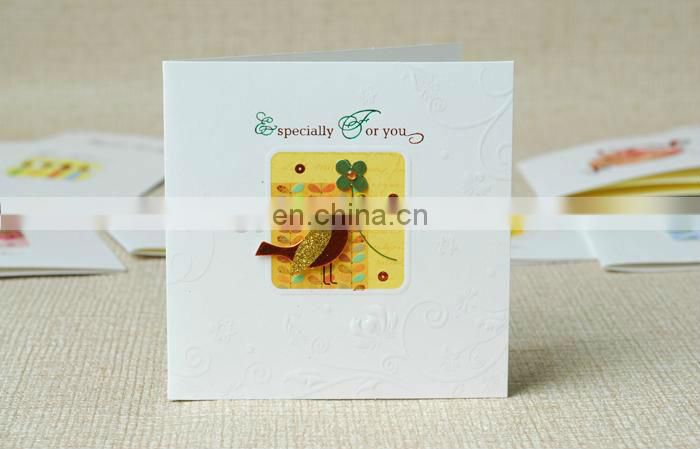 2013 new handmade paper Greetings cards