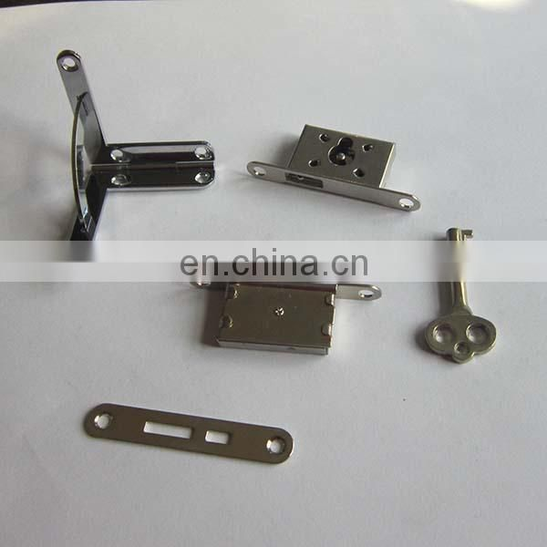 High Standard precision sheet metal stainless steel chrome finishing furniture door hardware durable door lock cover