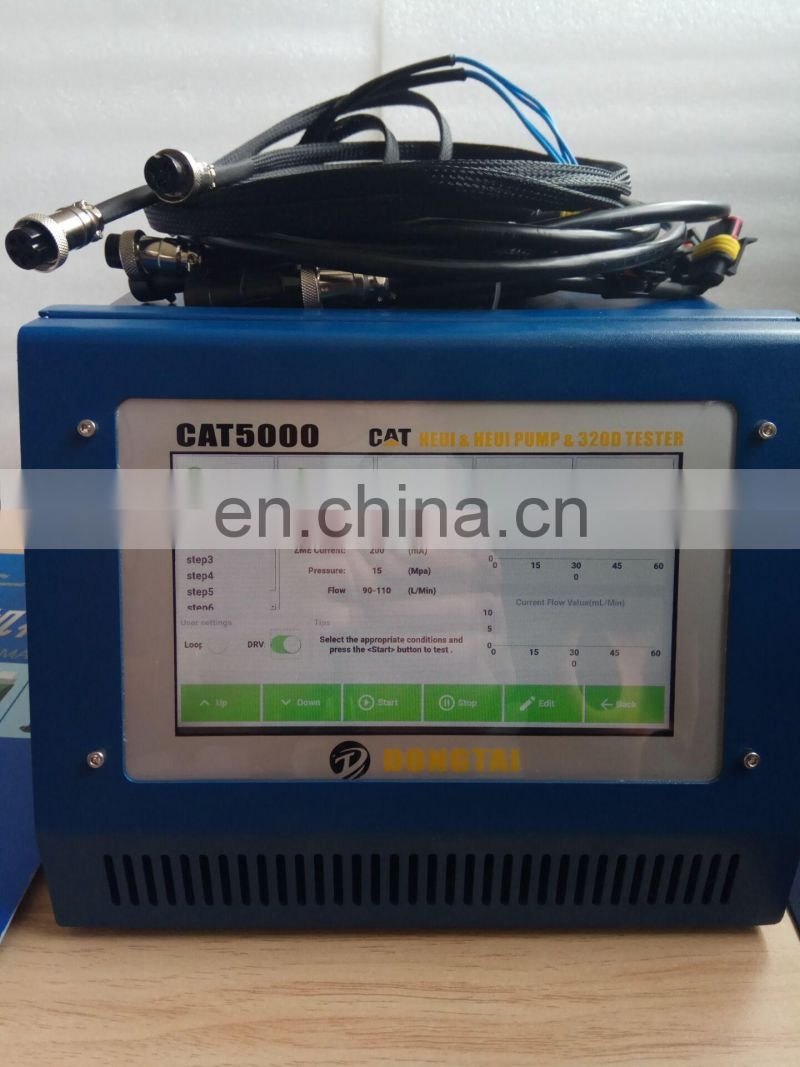 Fuel pump test bench with CAT5000 TESTER to test HEUI