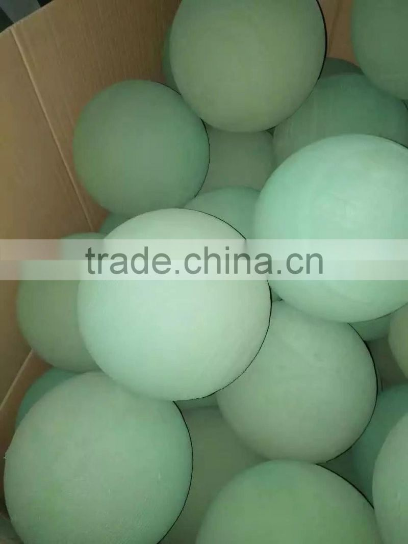 customized wet green resin floral foam spheres