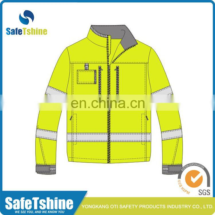 competitive hot product reflective fluorescent reflective jacket