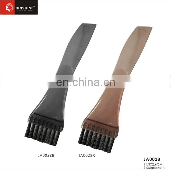 Factory Price durable plastic Hair Dye Tint Brush & Comb with Nylon hair