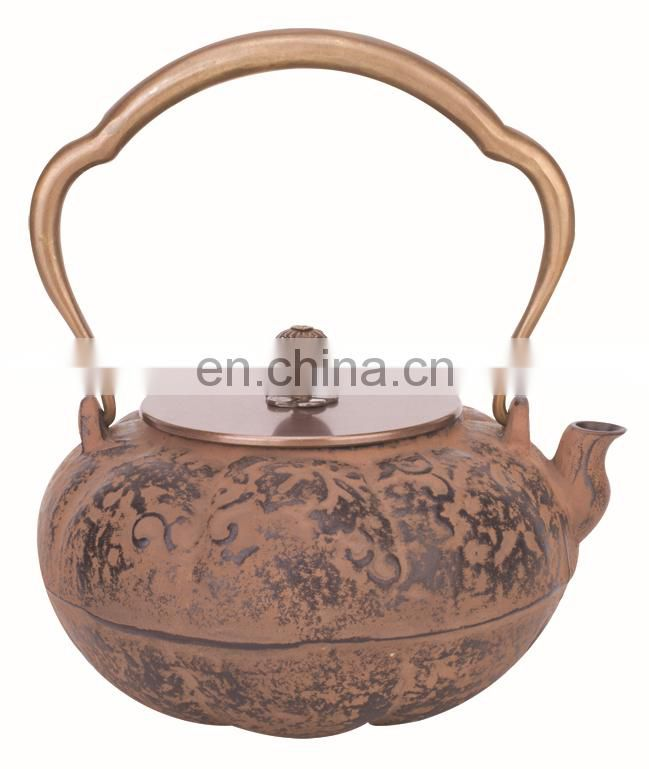 cast iron teapot 0435