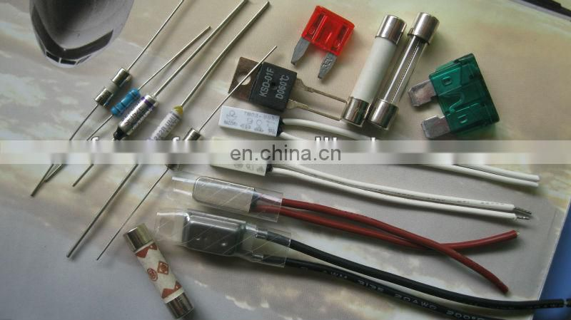 High quality HRC fuses(glass tube fuse,ceramic fuse, auto fuse,thermal fuse)