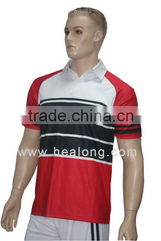 Wholesale Custom Sublimation Rugby Uniform Shirt Rugby Jersey