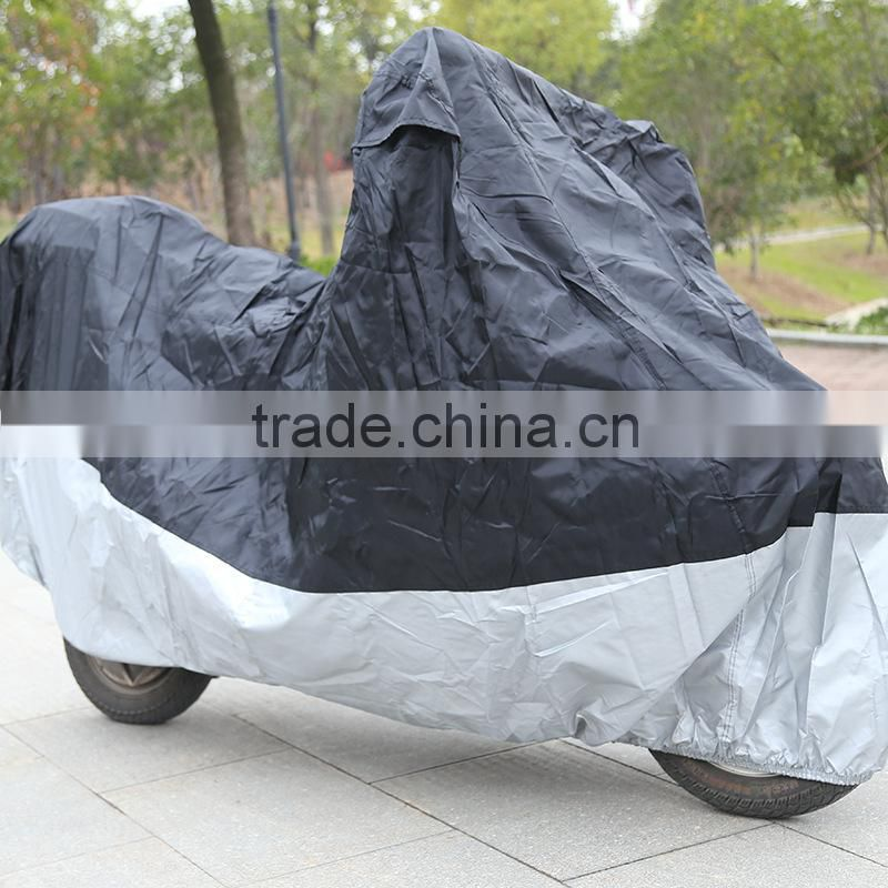 UV protective motorbike cover yellow color