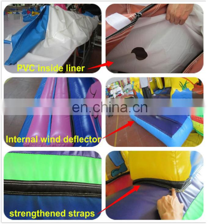 2016 Guangzhou inflatable obstacle course inflatable colorful games