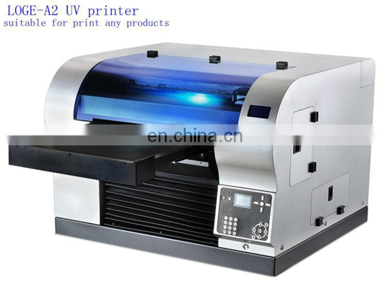 USB business card printing machine visiting smart card uv printer UV digital printer for plasitc ID card
