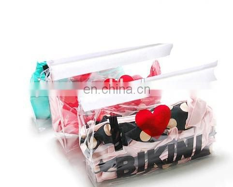 customized pvc underwear bag