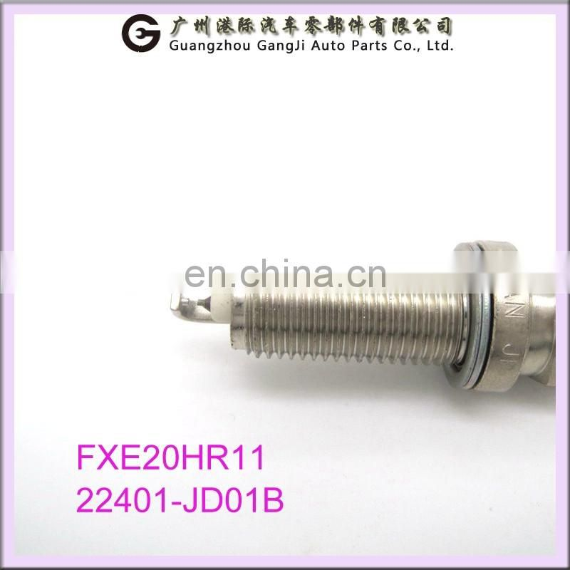 Wholesale Spare Parts Spark Plugs FXE20HR11 22401-JD01B For Japanese Car