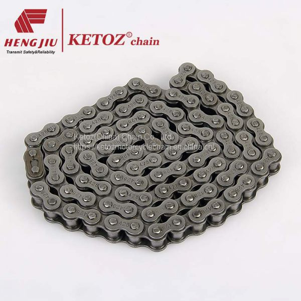 High quality motorcycle chain Ketoz brand 420 428 428H 520H Image