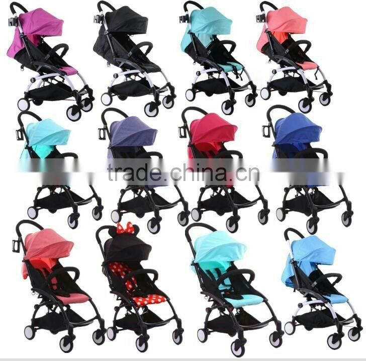 Light weight portable baby stroller type hot sale on alibaba from china baby stroller manufacturer