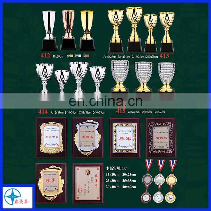 Hotsale silver plated champions trophy cups for sports