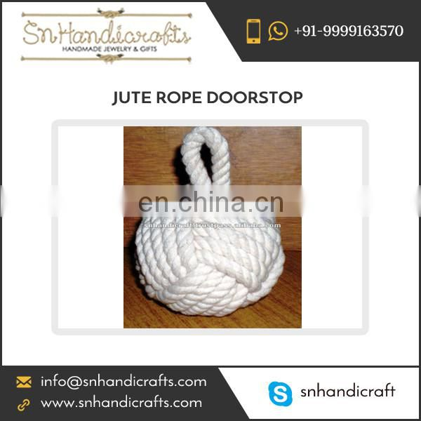 Rope Knot Doorstop nautical doorstop cotton doorstop