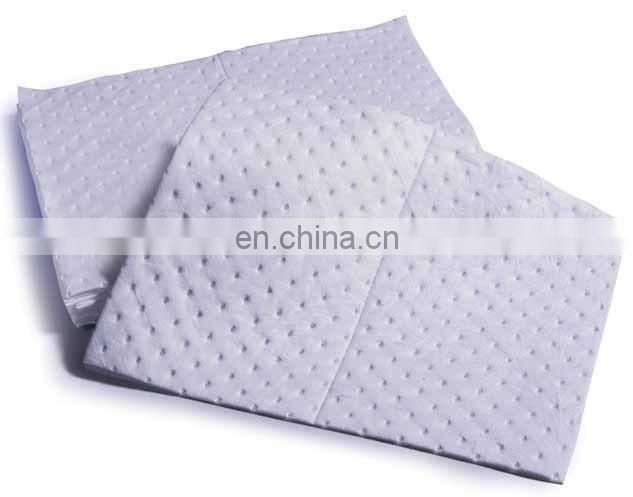 Eco-friendly nonwoven PP padding/felt for oil suction