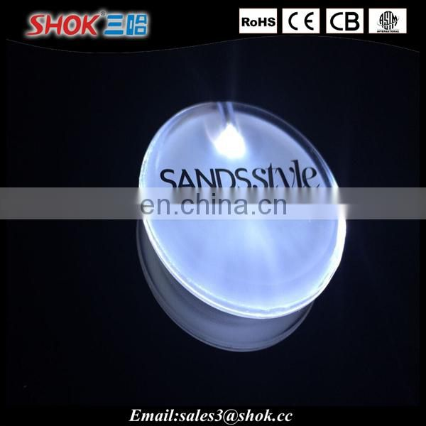 LED new products for party decoration led mini clothing badge