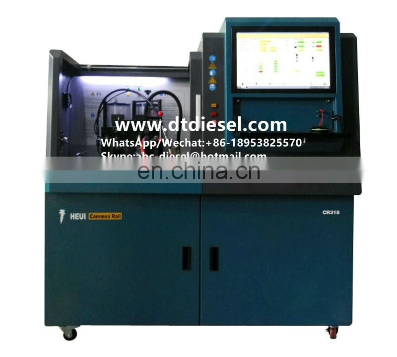 CR825 Multifunctional Common Rail Diesel Fuel Injector&Pump Testing Equipment,QR coding, HEUI&EUI EUP