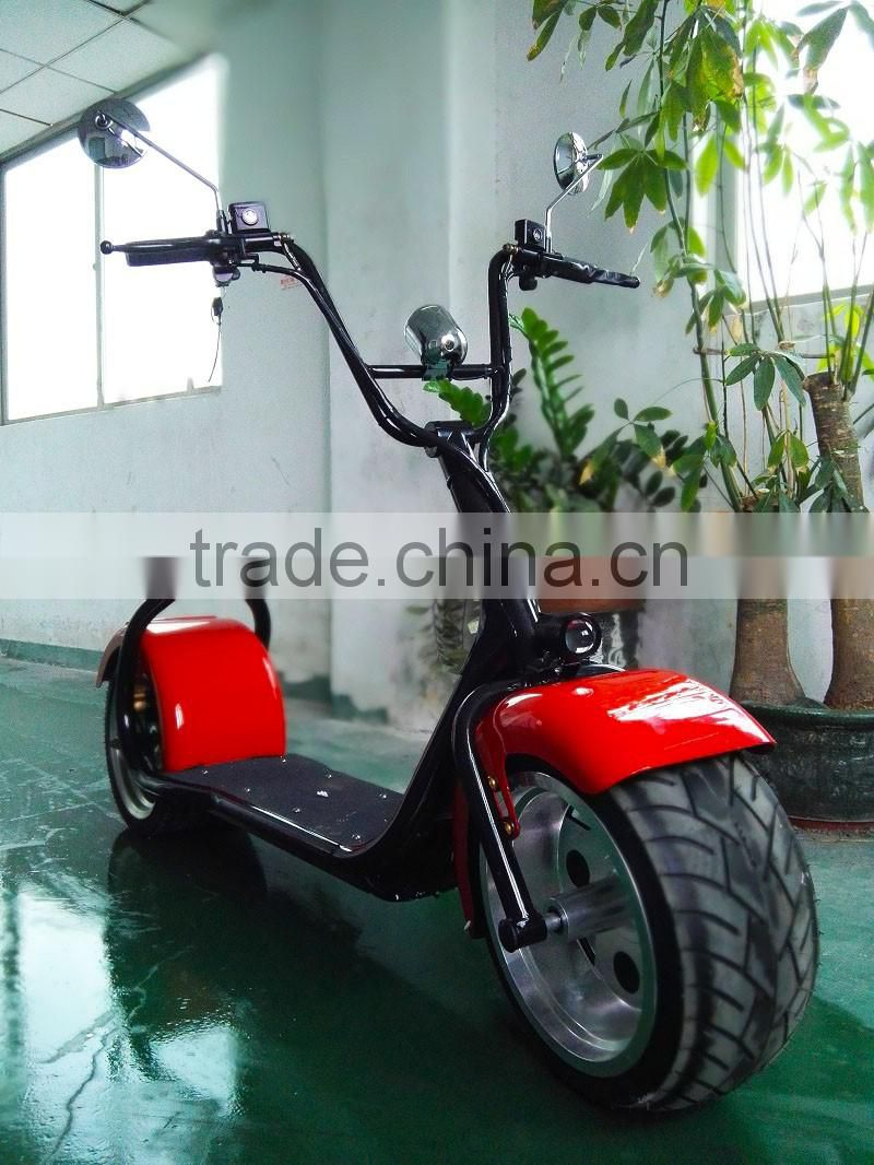 Sunnytimes Two Wheel Self Balancing Citycoco Electric Scooter 60V Lithium Battery 1000W Motor