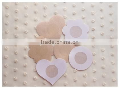 Sexy Disposable Adhesive Fabric Breast Bra Pad Pasties Nipple Cover