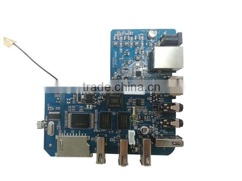 mxq hd18q AML S805 Quad Core MXQ Smart TV BOX Mini PC