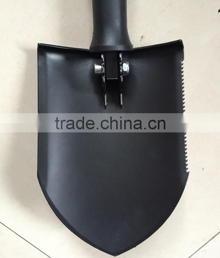High Quality Steel Folding Garden Shovels With Plastic Handle