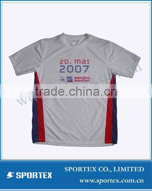2015 OEM 100% polyester men dry fit running t shirts blank dry fit t shirts fa299b
