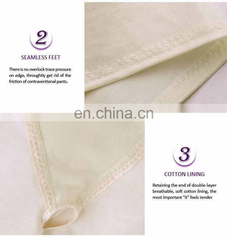 Popular Antimicrobial breathable new design bamboo body shaper slimming