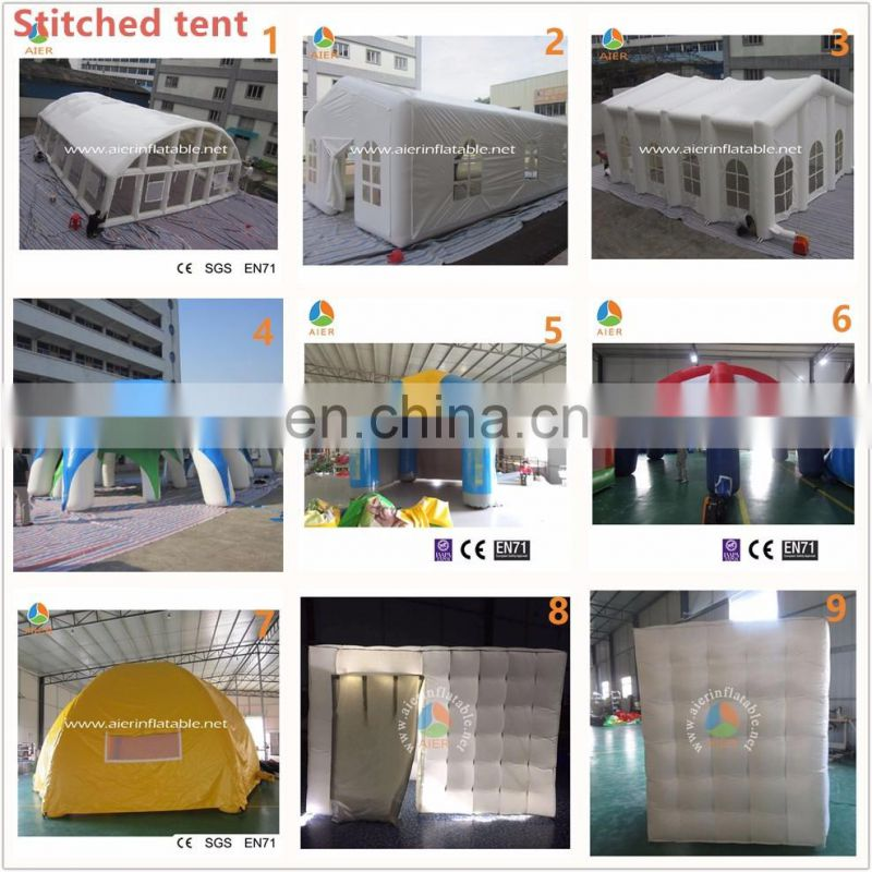 Outdoor transparent swimming pool tent, inflatable air dome tent for sale, price for sale bubble tent