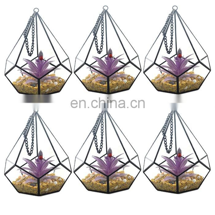 new terrarium geometric glass terrarium wholesale