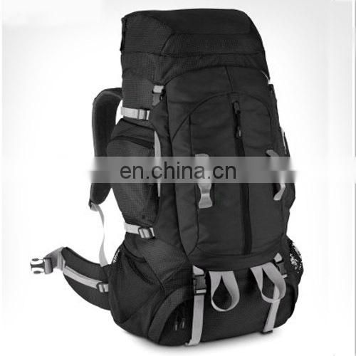 Multifunctional camping backpack with many pockets