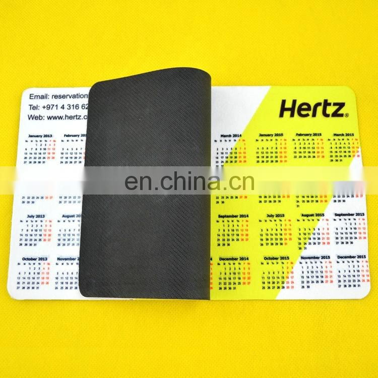 popular custom calendar mouse-pad