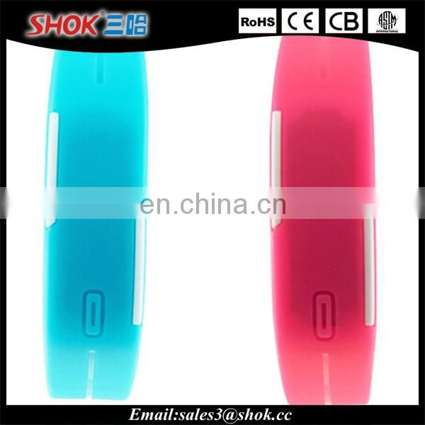 2015 new products alibaba resistant Sports Bracelet touch screen led watch