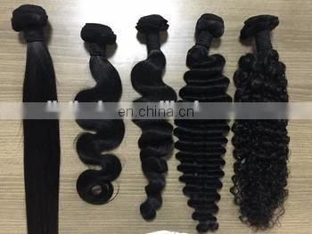 Cuticed Aligned 8A 9A 10A Body Wave Hair Weft Brazilian Human