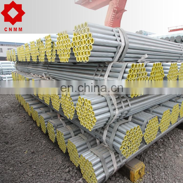 "galvanized round steel pipe astm a106 a53 grade b 1"" to 4"""