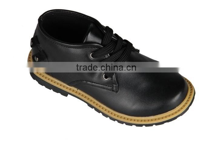Leather Cheap Boys Men Boots OEM Production Casual Shoes