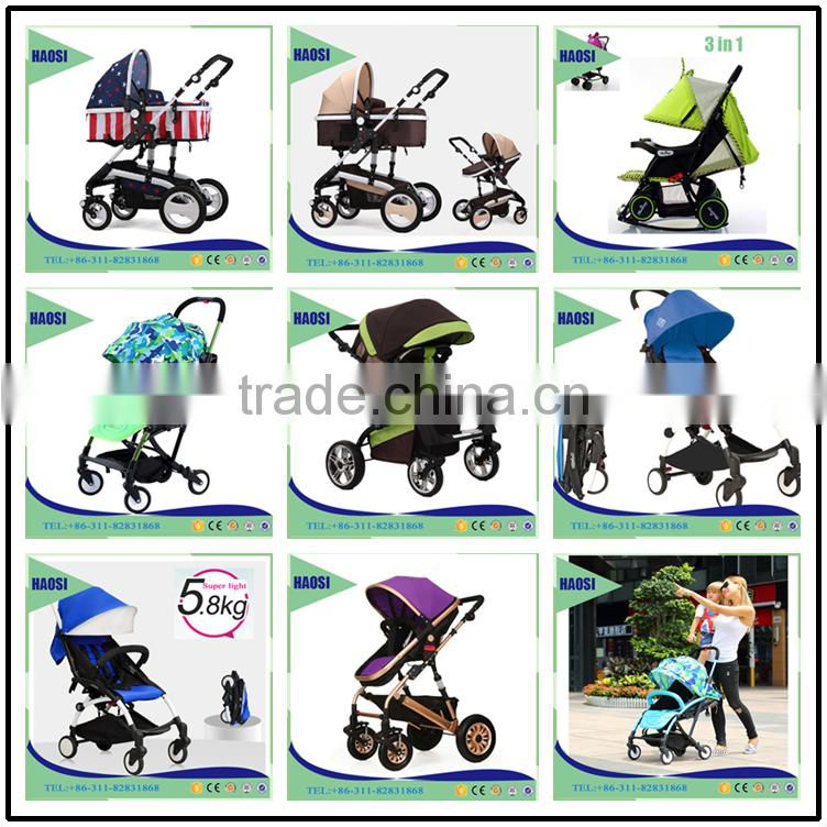 New and Luxury Design 3 in 1 Baby Stroller