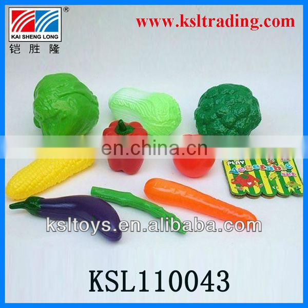 8pcs children kids toys plastic fruit