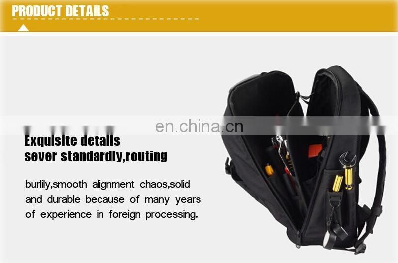 Wholesale 1200D durable electrician backpack tool bag