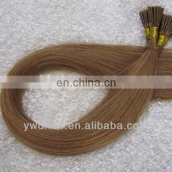 new products brazilian remy bright color i-tip hair extensions