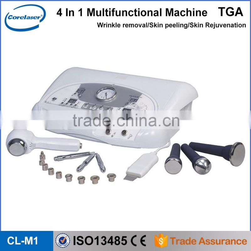 skin exfoliating machine/certification diamond dermabrasion machine/micro peeling device